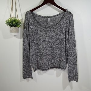 GAP BODY Loose Fit Knit Crop Sweater Top M
